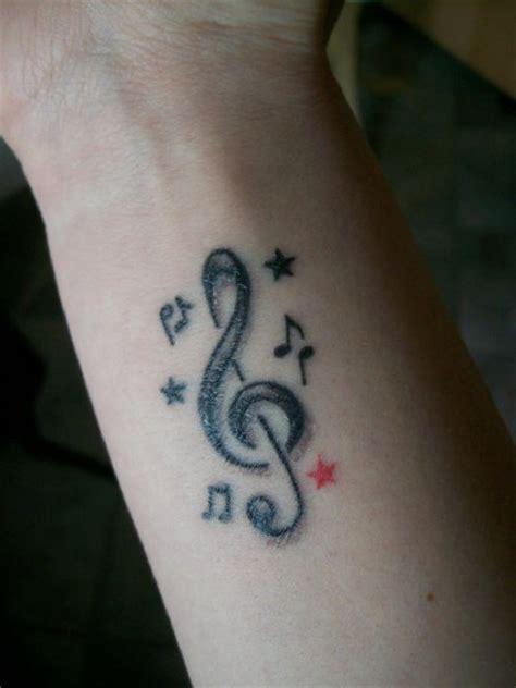 chaoskindlein mein erstes notenschluessel tattoos von