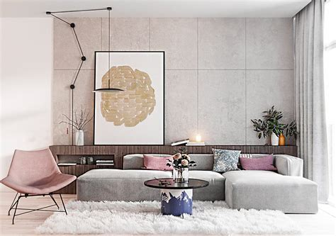 Wohnzimmer Rosa Grau by Grey Living Rooms Creating A Warm Vibrant And Stunning