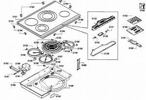 Bosch Cooktop Parts