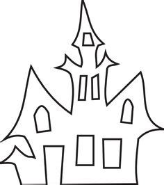 haunted house template patterns other craft ideas patterns patterns and felting