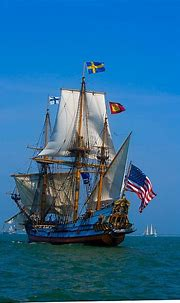 Frequently, sailing ships of the 16th & 17th century had ...