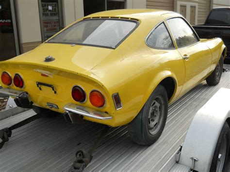 1970 Opel Gt by Stored 20 Years 1970 Opel Gt