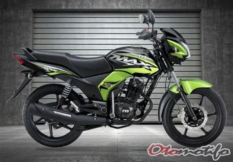Tvs Max 125 by 8 Harga Motor Tvs Terbaru 2019 Otomotifo