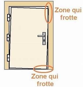 reparer une porte qui frotte ou ferme mal astuces pratiques With reparer une porte d entree en bois