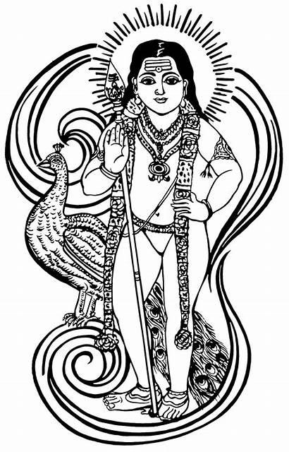 Murugan Lord Muruga Om God Shiva Line