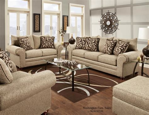 Cafe Colored Living Room by Mix Cafe Sofa And Loveseat Fabric Living Room Sets