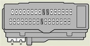 Lexus Es350  2008 - 2009  - Fuse Box Diagram