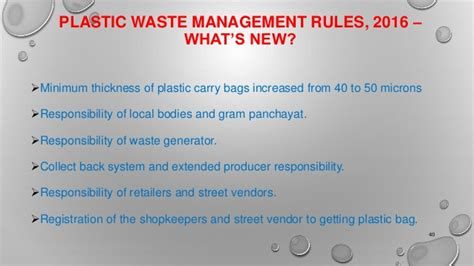 plastic waste management conventional and new technology
