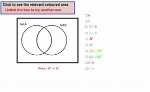Regions Of A Venn Diagram With Two Sets  U2013 Geogebra
