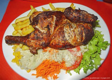 cuisine cr駮le antillaise jp poulet grillé créole cuisine antillaise insolite guadeloupe voyage insolite