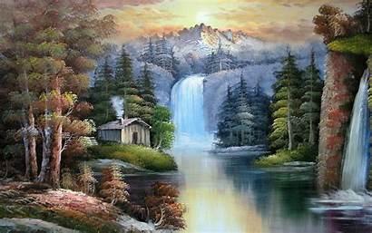 Mountain Scenes Scene Desktop Dream Nature Painting