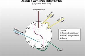 3 Pole 4 Way Rotary Switch Wiring Diagram