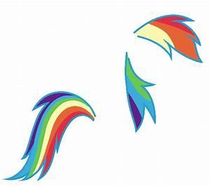 Rainbow Dash Mane And Hair base by Nsmah on DeviantArt