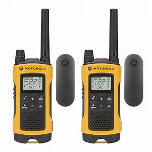 Motorola Talkabout Rechargeable 2-way Radios  2-pack -t402