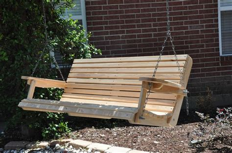 wooden porch swings 5ft cypress porch swing wood wooden outdoor furniture ebay