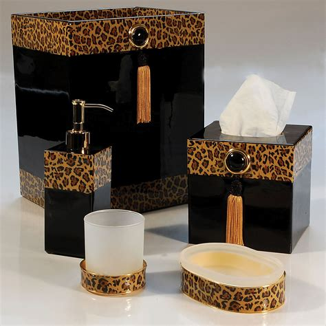 print bathroom ideas leopard print bathroom accessories leopard print