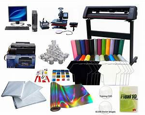 Vinyl cutter for tshirt printing