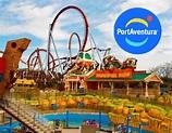 Spain - PORT AVENTURA - Travel Souvenir Fridge Magnet | eBay