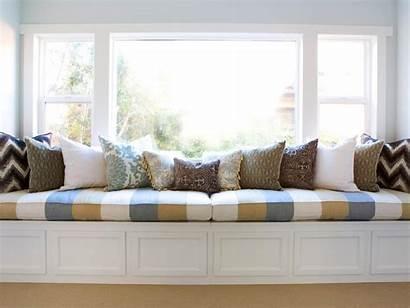 Window Bedroom Seat Storage Pillows Hgtv Decorative