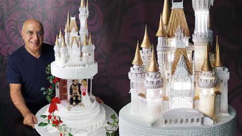 Disney Fairytale Castle Wedding Cake Story