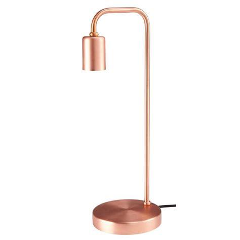 lampe en metal cuivre ev lampe  poser maisons du monde