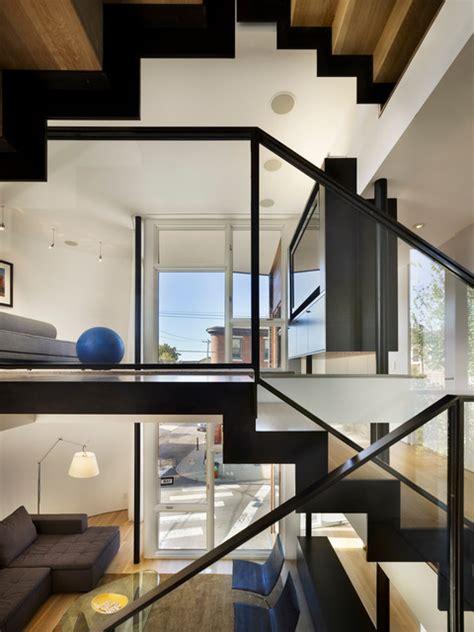 contemporary split level home designs decor split level house modern staircase philadelphia by
