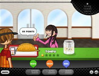 jeux de cuisine papa louie pancakeria papa s taco puzzle jeux k7x com jeux en ligne gratuits