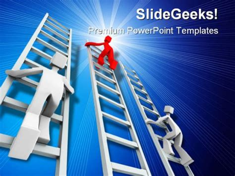 Success Powerpoint Templates Free by Competition Success Powerpoint Template 1110