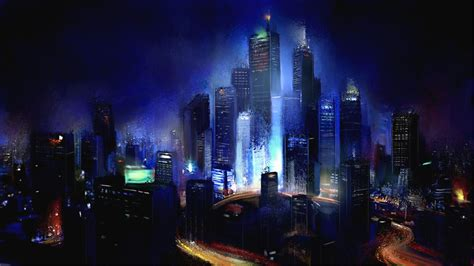 Abstract Cityscape Wallpaper by Cityscape Desktop Wallpapers Wallpaper Cave