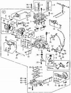 Honda Online Store   1983 Civic Carburetor  4  Parts