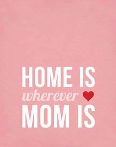 Mother's Day Wall Art Printable Typography Print Digital ...