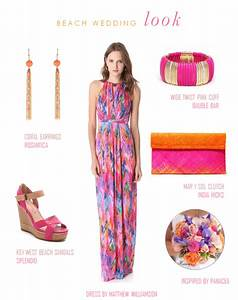 beach wedding guest look With tropical wedding guest dresses