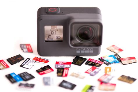 gopro hero sd card recommendations black session