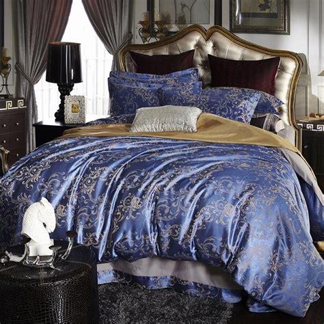 Cheaper Jacquard Duvet Cover Set Bedding Cotton Sets Super