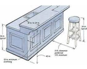 Kitchen Island Bar Height Building A Breakfast Bar Dimensions Commercial Spaces Cabinets Bar And Search