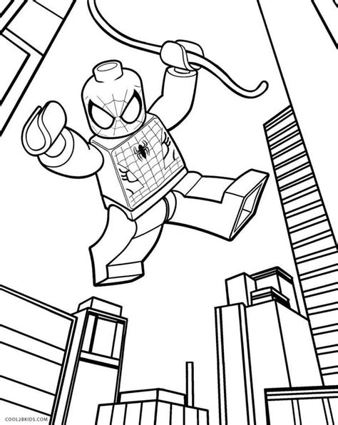lego spiderman coloring pages lego coloring pages