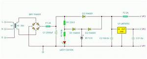 Basic Ups Circuit 5v And 12v Dc