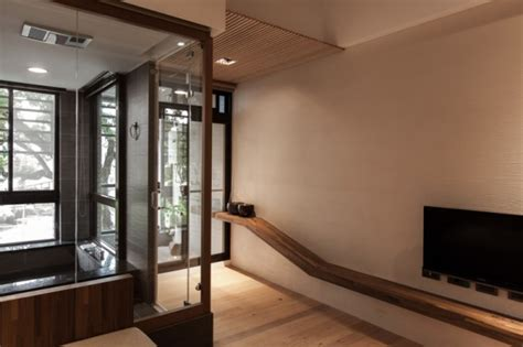 charming modern japanese house  wooden structure housebeauty