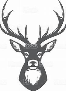 Deer Head Illustration Stock Vector Art & More Images of ...