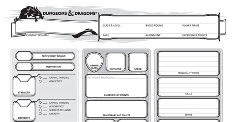 character sheet form fillable  honor sanity