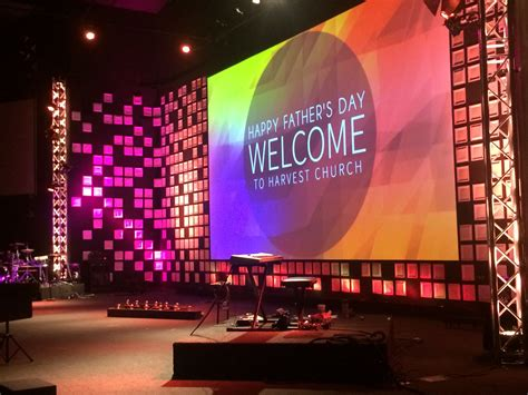 Church Stage Backdrop by Square Paper Plate Church Stage Design Ideas Church