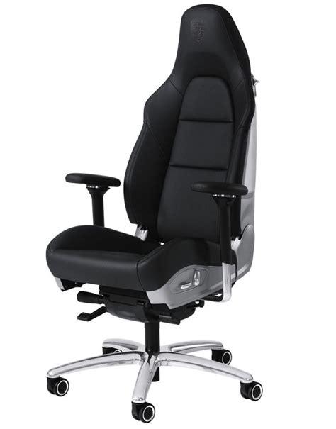 bureau fauteuil fauteuil de bureau porsche en cuir