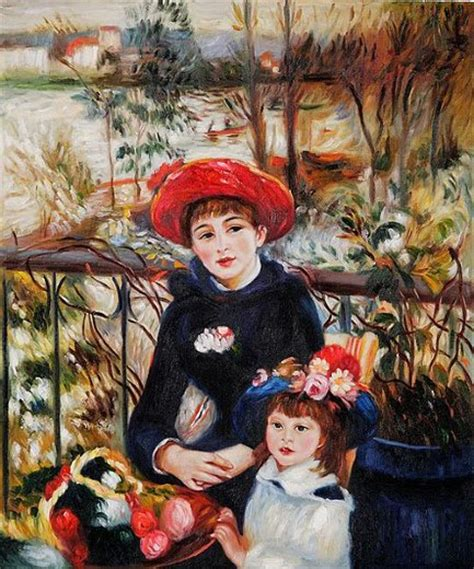 renoir two on the terrace auguste renoir two on the terrace 1881