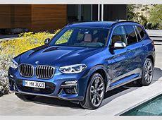 2018 BMW X3 M40i specifications, photo, price