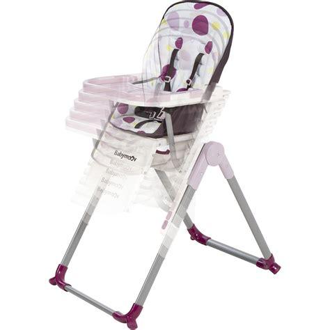 chaise haute slim de babymoov chaise haute réglable slim prune de babymoov chez naturabébé