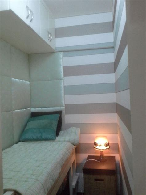 extremely small bedroom my design concept for patrick s tiny tiny bedroom illusion of width using horizontal lines