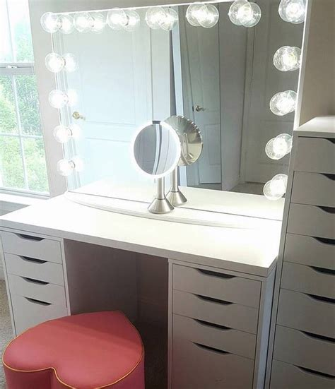 makeup vanity furniture ikea this simplicity is key such an makeup station from girlsloveponies featuring