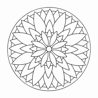 Mandala Imprimer Coloriage Mandalas Enfants Coloriages