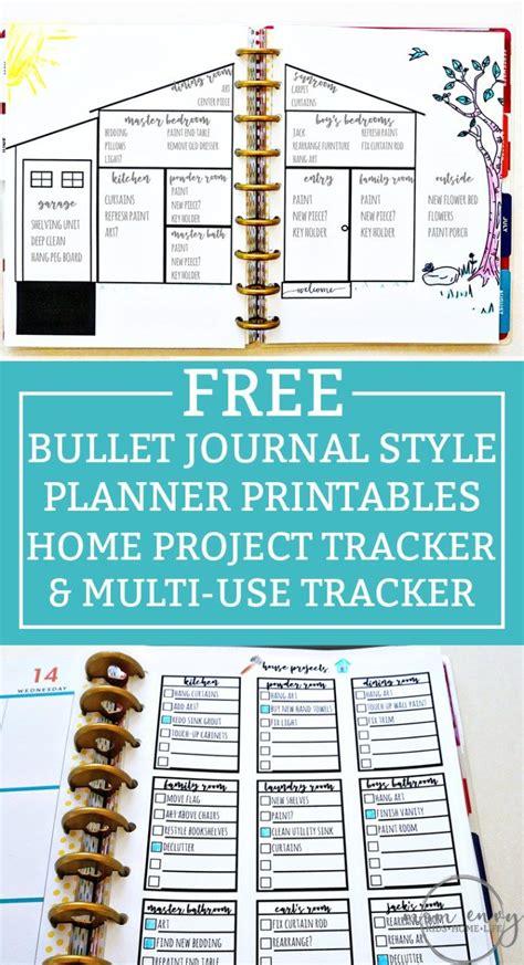 bullet journal inspired  printables
