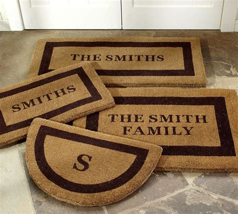 Personal Doormats by Thoughtful Personalized Gifts That Will Never Fail You